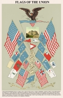Flags of the Union 11x17 Poster