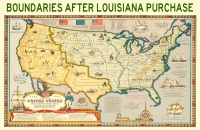 U.S. Map After Louisiana Purchase