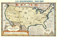 U.S. Boundaries at the Close of the Civil War