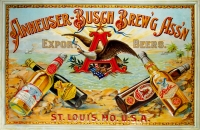 Anheuser Busch Brewing Association Poster