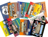 Route 66 -  Set of 10 Postcards