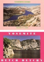 Yosemite - set of 2