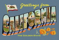 California Greetings Postcard (4x6)