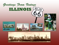 Illinois Route 66 Vintage Greetings