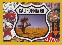 California Route 66 Postcard