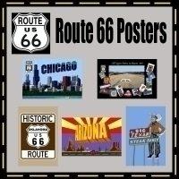 Route 66 Poster Prints