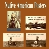Native American Posters